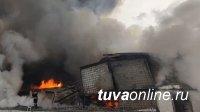 Глава Тувы Шолбан Кара-оол выразил соболезнования по погибшим в пожаре спасателям Красноярска