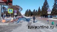 В Кызыле запретили ставить авто на центральном участке улицы Чульдум