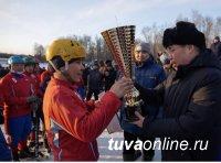 Первый кубок Мэра Кызыла по хоккею с мячом уезжает в барун-хемчикское село Аксы-Барлык