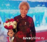 Айдын Дунь поздравил с Днем рождения кавалера Ордена Республики Тыва Ошку-Саар Ооржак