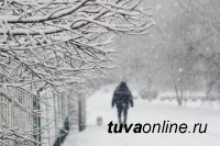 В Туве в последний день зимы температура ночью опустится до 37°С мороза