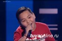Талантливый 12-летний певец из Тувы Ай-Херел покорил судей «Голос. Дети»
