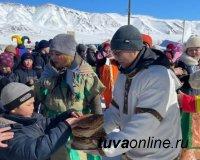 """Тува: Чедихольцы привезли """"Масленицу"""" в горную Монгун-Тайгу"""