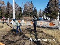 В Кызыле и муниципалитетах Тувы стартовали субботники