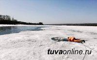 В Туве разыскивают тело провалившегося под лед 28-летнего мужчины