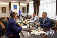 В Доме Правительства Тувы прошла встреча с представителем Роснедра