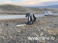В Тувы за день в 2 авариях пострадали 10 человек, включая 3 детей, один из которых погиб
