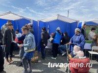 В Кызыле на Левобережных дачах провели выездную ярмарку консультаций