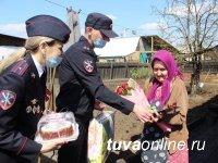 Правоохранители Тувы присоединились к поздравлениям с Днем Победы