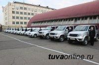 Автопарк полиции Тувы за последний месяц пополнился 36 новыми автомашинами