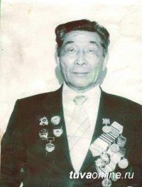 Тувинский доброволец, старшина Тимофей Пичен-оол