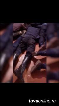 """Полицией Тувы при поддержке Росгвардии в пийхемском селе Найырал """"накрыта"""" криминальная сходка"""