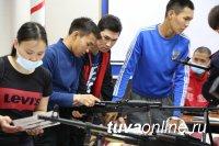 Военный учебный центр ТувГУ провел квест-игру для студентов СПО