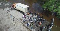В Туве сегодня отмечается незначительный спад уровня воды в реках