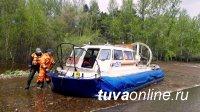 В Туве школьников из отрезанных водою сел на пункты ЕГЭ доставят катера МЧС