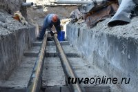 КрасноярскСтат: протяженность тепловых сетей в Кызыле - 294 км, водопроводных - 262, канализационных - 179 км