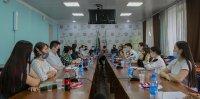 В ТувГУ состоялась традиционная встреча ректора с активом студенческого самоуправления