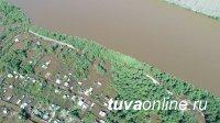 В Кызыле уровень воды в Енисее поднялся на 74 сантиметра