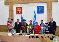 Ко Дню России в Туве состоялось награждение государственными наградами