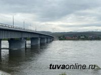 17 июня в Туве отмечается незначительный спад уровня воды в реках