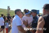Из полугодовой командировки на Северном Кавказе вернулся сводный отряд МВД по Республике Тыва