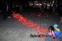 """Единороссы Тувы посвятили Дню памяти и скорби партийную акцию """"Огненные картины войны"""""""