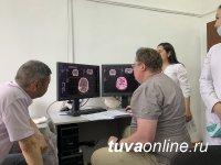 В Туве введен в эксплуатацию новый томограф в Барун-Хемчикском ММЦ