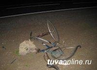 В тувинском селе Шуурмак погиб велосипедист, внезапно выехавший на проезжую часть улицы в с