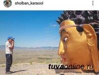 В столице Тувы на священной горе устанавливают статую Будды