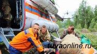 50 сотрудников Тувинской авиалесоохраны помогают в тушении пожаров в Иркутской области