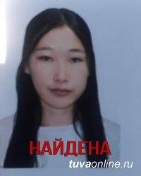 Пропавшая в Кызыле 15-летняя девушка  найдена