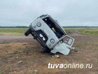 Не получавший прав  21-летний житель Тувы  совершил ДТП на буханке