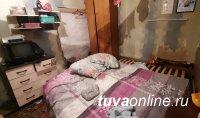 В Туве мужчина убил чужого  младенца, замахнувшись на сожительницу