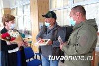 В Туву из Благовещенска приехала вдова участника боевых действий на Северном Кавказе