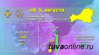 Эпидситуация по коронавирусу в Туве на 5 августа