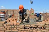 Средняя зарплата строителей Тувы - около 40 тысяч рублей