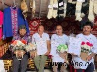 Сенатор Дина Оюн побывала в Монгун-Тайгинском кожуунe Тувы