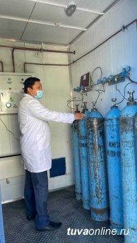 В Туву поступили мощные кислородные станции
