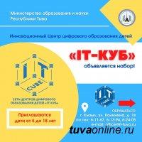 Юных кызылчан с 5 до 18 лет приглашают в IT-куб