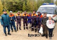 На 3-и сутки в Туве были найдены заблудившиеся в тайге грибники! Помог квадрокоптер