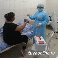 За сутки в Туве выявлено 64 новых случаев заболевания Covid-19. В республике 17 больных подключены к аппарату ИВЛ