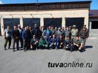 Отряды тувинской авиаохраны лесов вернулись из Якутии и Иркутской области