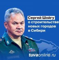 Сенатор Дина Оюн поддерживает идею Сергея Шойгу о новых центрах притяжения в Сибири