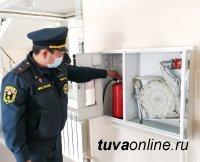Избирательные участки Тувы проверяют на противопожарную безопасность