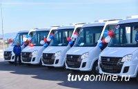 18 передвижных медицинских комплексов переданы районам Тувы