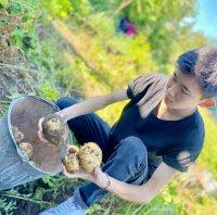 «Добрые Сердца Тувы» помогли жителю блокадного Ленинграда вскопать огород