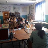 """Специалисты """"Центра защиты леса"""" прочли лекцию студентам ТувГУ"""
