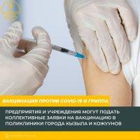 В Туве от гриппа планируется привить почти 200 тысяч человек