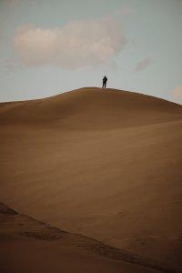 Пустыня в Туве, чьи пески не уступают в красоте аравийским
