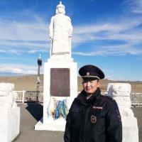 «Народным участковым» Республики Тыва стал лейтенант полиции Аюш Монгуш